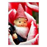 Gnome Blossom Greeting Card