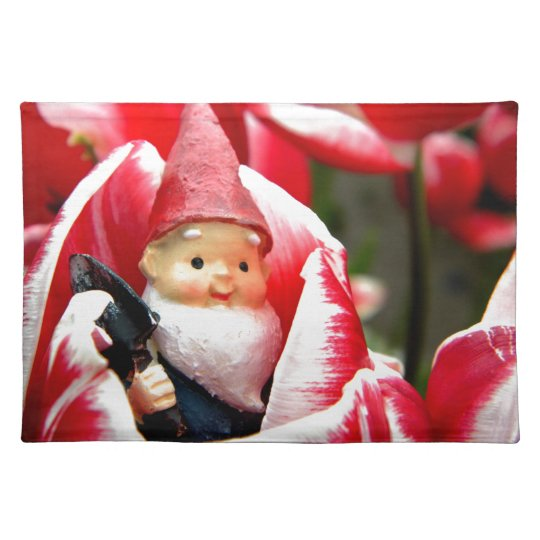 Gnome Blossom Placemat