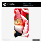 Gnome Blossom Skin For The iPhone 4S