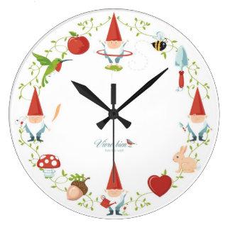 Gnome-body Hoops Like Me clock