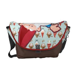 Gnome-body Hoops Like Me! Messenger Bag