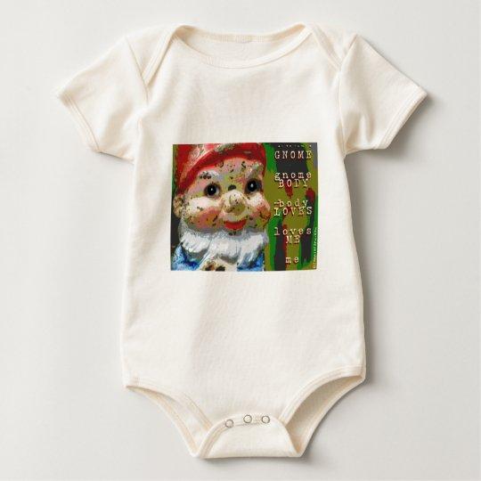 Gnome Body Loves Me Baby Bodysuit