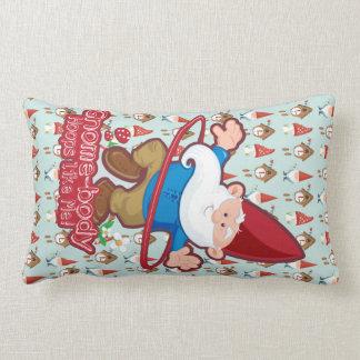 Gnome-body: Lumbar throw pillows