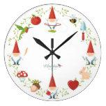 Gnome-body: Wall clocks