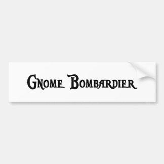 Gnome Bombardier Sticker
