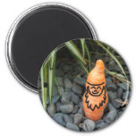 Gnome Carrot Magnet