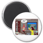 Gnome Cartoon Funny Gifts Tees Mugs Cards Etc Magnets