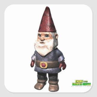 Gnome D Square Sticker