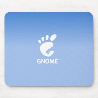Gnome DE blue Mousepads