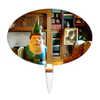 Gnome Den Cake Topper