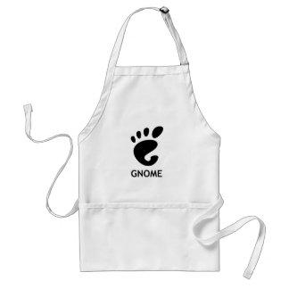 Gnome (desktop environment) adult apron