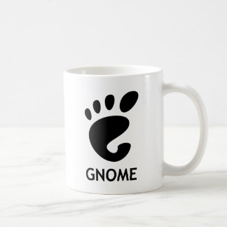 Gnome (desktop environment) coffee mug