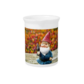 Gnome Field II Drink Pitcher