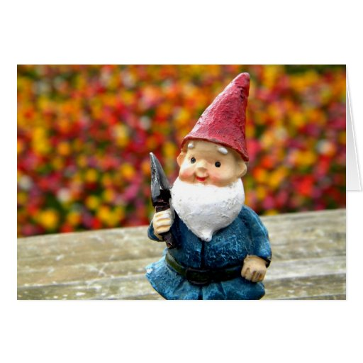 Gnome Field II Greeting Card
