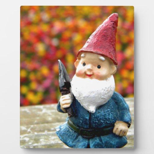 Gnome Field II Photo Plaques