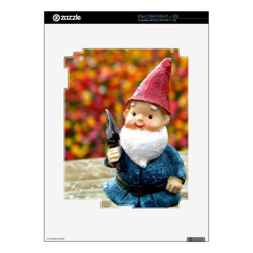 Gnome Field II Skin For The iPad 2