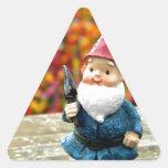 Gnome Field II Triangle Sticker