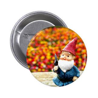 Gnome Field Pinback Button