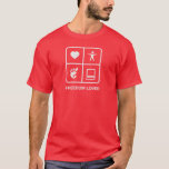 GNOME Freedom Lover Mens T-Shirt