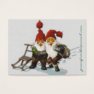 Gnome Friends at Christmas Business Card