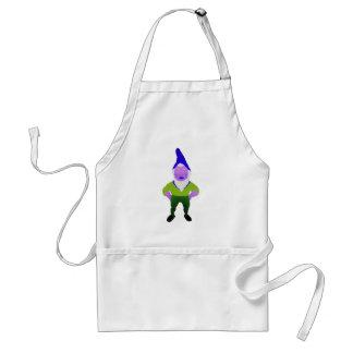 Gnome Garden Little Man Lawn Nome Gnome Underpants Adult Apron