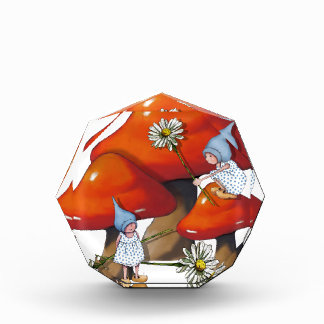 Gnome Girls, Daisies, Toadstool, Fantasy Art Award