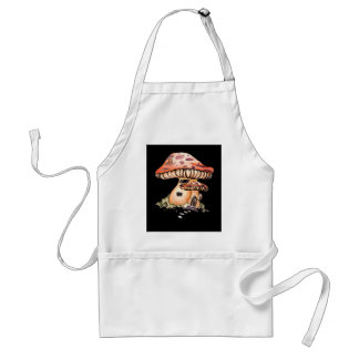 Gnome Home Adult Apron