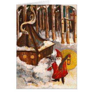 Gnome Home Card