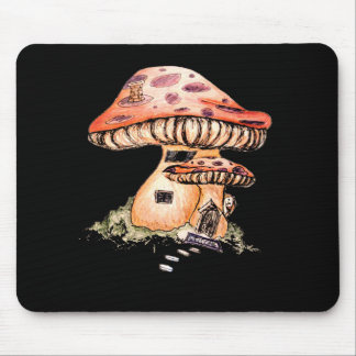 Gnome Home Mouse Pad