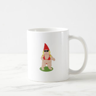 Gnome in Bikini Coffee Mug