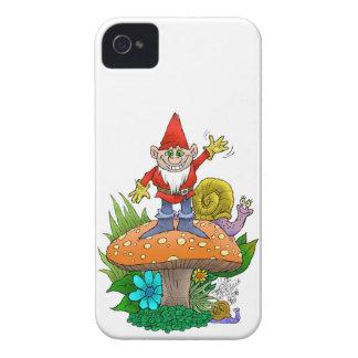 Gnome.jpg que agita carcasa para iPhone 4