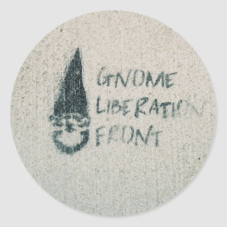 Gnome Liberation Front Stickers