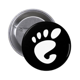 Gnome - Linux - OSS FSF  Button