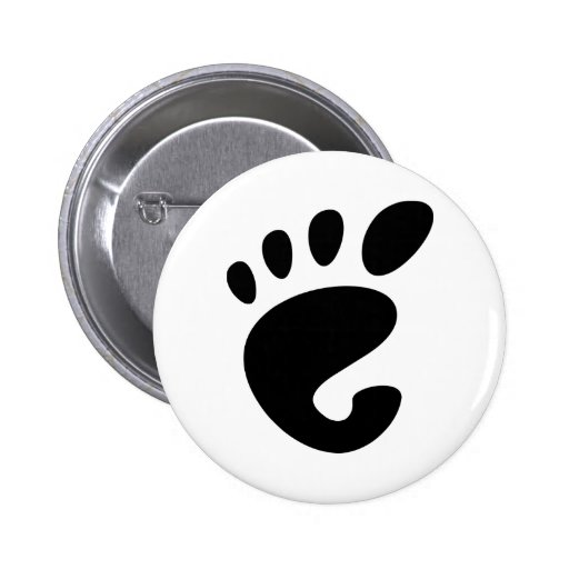 Gnome - Linux - OSS FSF  Pin