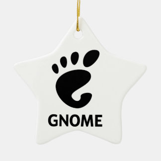 GNOME Logo Ceramic Ornament