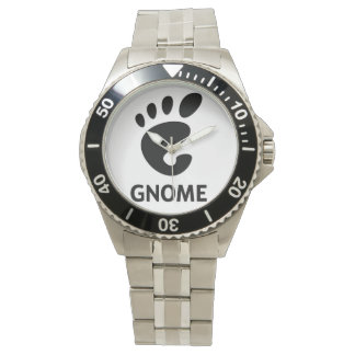 GNOME Logo Qaurtz Wrist Watch