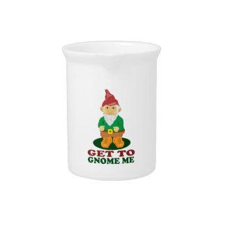 Gnome Me Beverage Pitchers