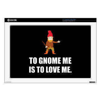 Gnome Me Is To Love Me Skin For Laptop