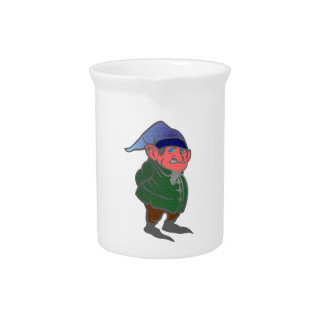 Gnome of gnomes beverage pitcher