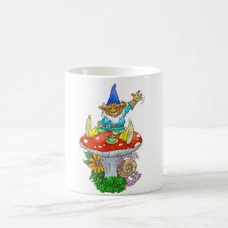 Gnome on a mug. coffee mug