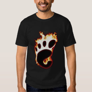 GNOME on fire T-shirt