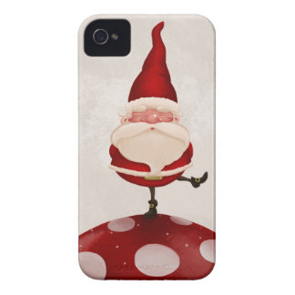 Gnome on fungus iPhone 4 cases