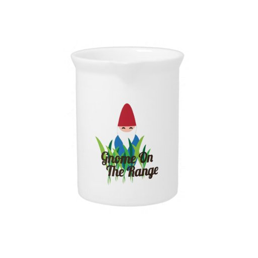 Gnome On The Range Pitchers