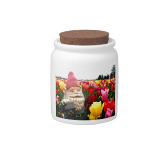 Gnome Petals Candy Dish