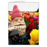 Gnome Petals Greeting Card