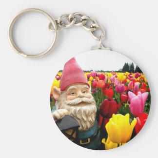 Gnome Petals Keychain
