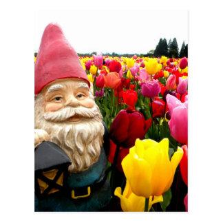 Gnome Petals Postcards