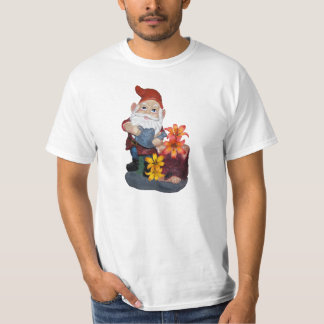 Gnome Photo Design T-Shirt