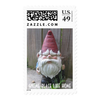 GNOME PLACE LIKE HOME POSTAGE STAMPS
