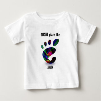 GNOME Place Like LINUX Baby T-Shirt